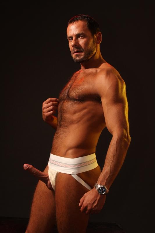 gay men tanning naked